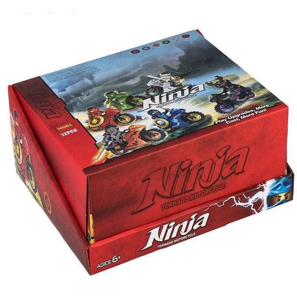 ساختنی دکول مدل Ninja 10017-10022 بسته 12 عددی