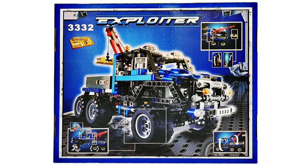 ساختنی دکو جیپ سری Building Block 3332 تعداد 678 تکه