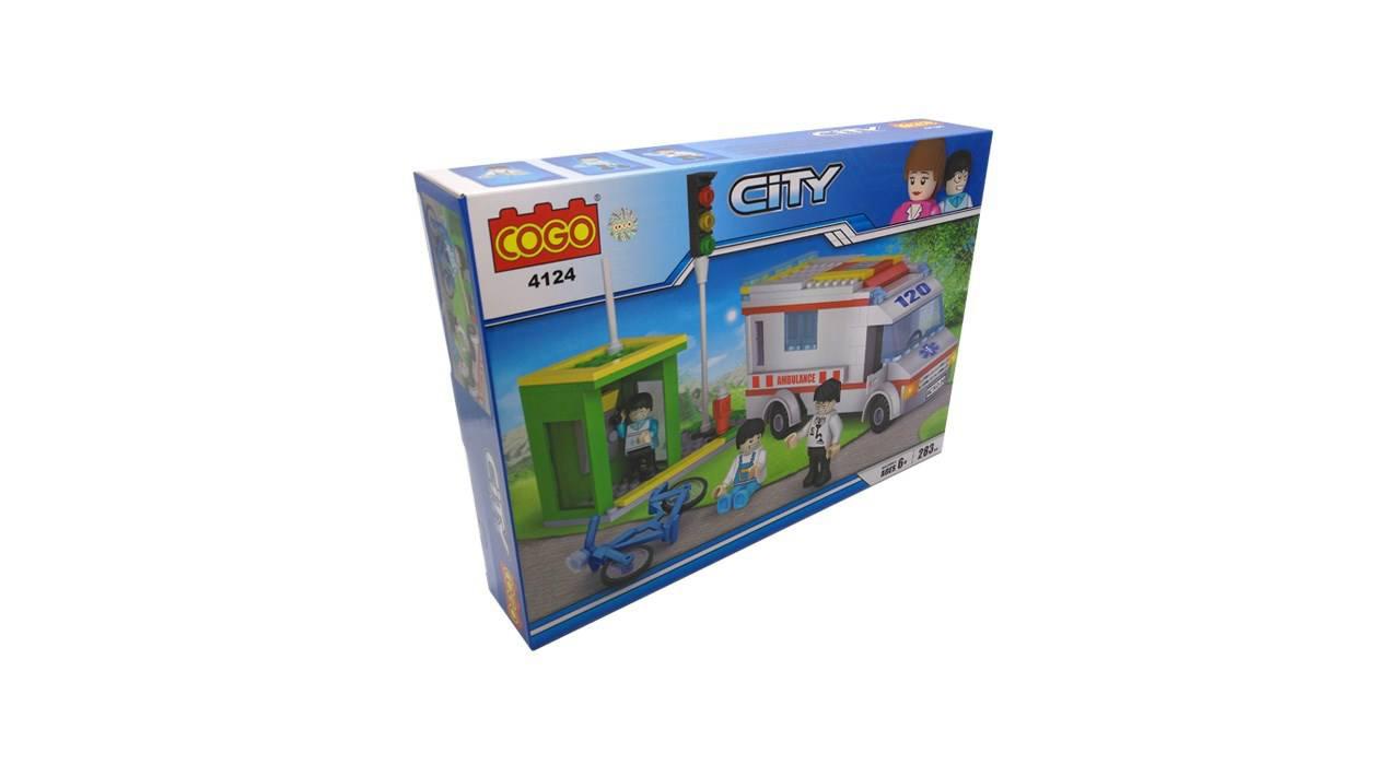 ساختنی کوگو سری 4124 City تعداد 283 تکه