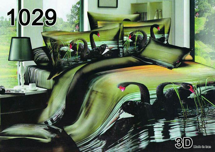 سرویس خواب دو نفره 6تکه سه بعدی Veronikai کد 1029