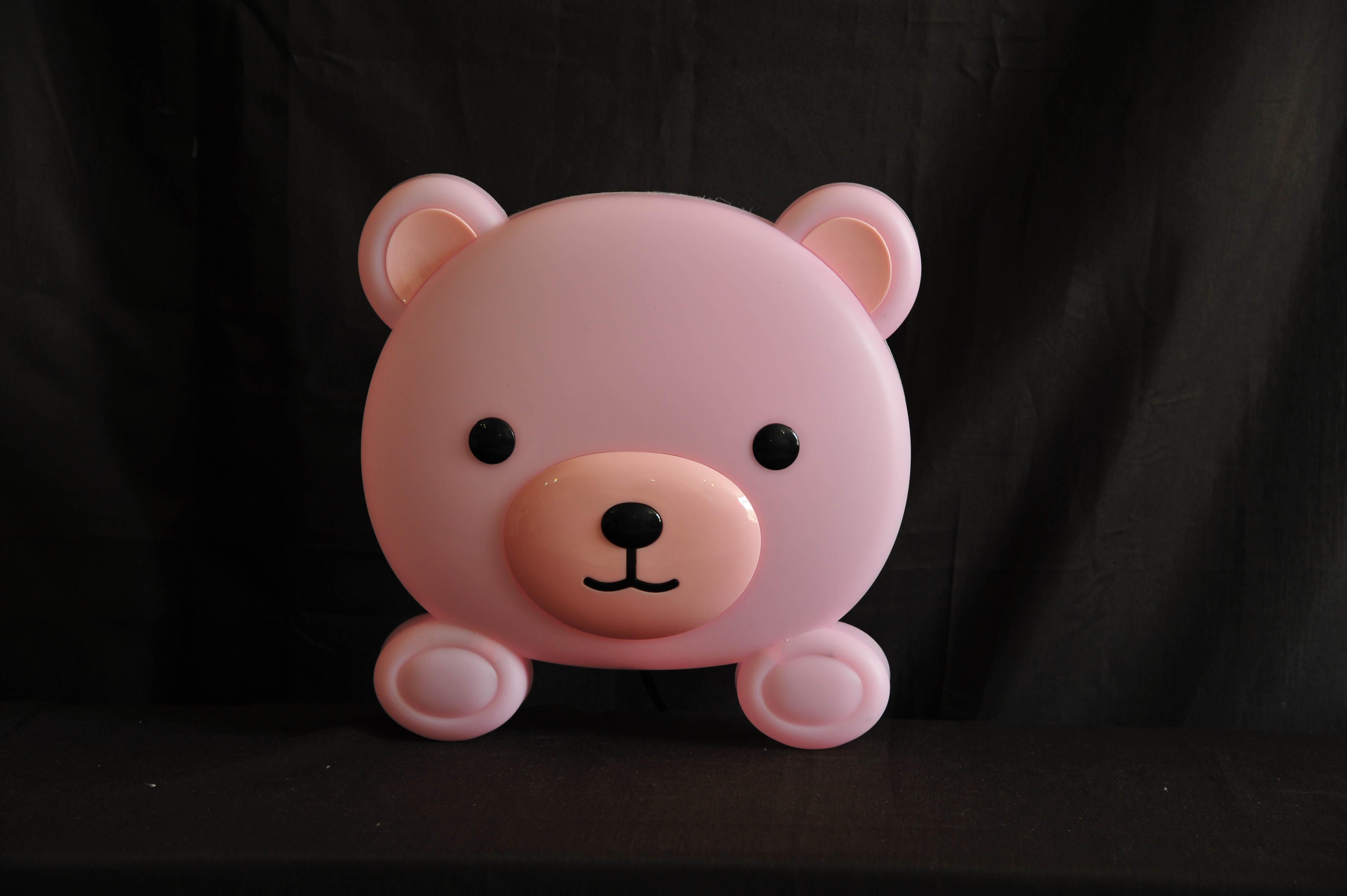 چراغ خواب دیواری کودک طرح خرس