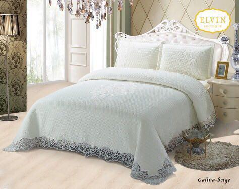 سرویس خواب سلطنتی دو نفره 8تکه ELVIN  طرح Galina