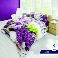 سرویس خواب دو نفره 6تکه سه بعدی Caren کد 203 طرح Lilac