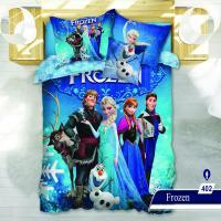 سرویس خواب یک نفره 4تکه سه بعدی عروسکی Caren کد 402 طرح Frozen