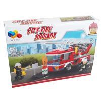 بازی ساختنی (لگو) طرح ماشین آتشنشانی کد 21003