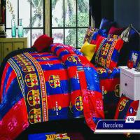 سرویس خواب یک نفره 4تکه عروسکی Caren کد 618 طرح Barcelona