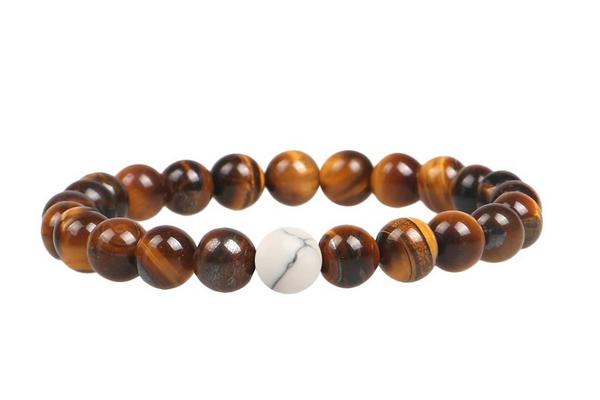 دستبند جینا سنگ طبیعی