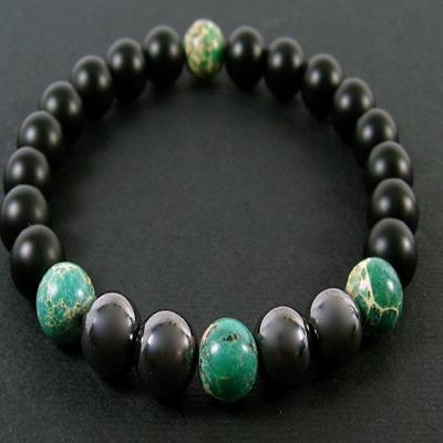 دستبند هماتیت سنگ طبیعی