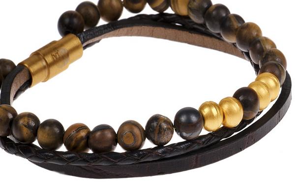 دستبند طلا 18 عیار تاج سلطان