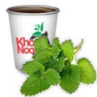 لیوان چای دار «بادرنجبویه»