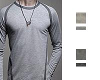 تی شرت مردانه 95 درصد کتان
