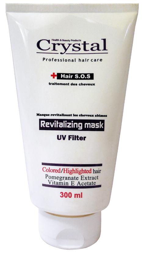 ماسک موی داخل حمام - تثبیت کننده رنگ مو - 300 میل - کریستال Crystal