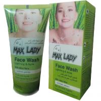 ژل شستشوی صورت پوست های خشک و معمولی مکس لیدی