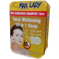 صابون سفید کننده 10 کاره مکس لیدی