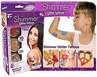 پکیج تاتوی موقت شیمر Shimmer