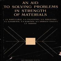 توضيحات کتاب زبان اصلی AN ADI TO SOLVING PROBLEMS IN STRENGTH OF MATERIALS