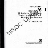 توضيحات جزوه استاندارد CHIMNEYS,FIREPLACES