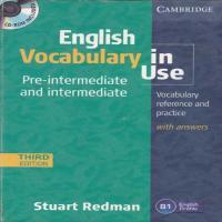 توضيحات کتاب ENGLISH VOCABULARY IN USE  STUART Redman