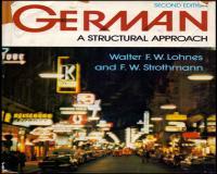 توضيحات کتاب زبان اصلی  German A Structural Approach