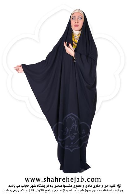 چادر جده عبایی حریر الاسود