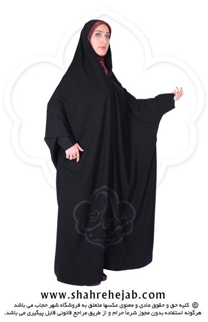 چادر اسماء مچ دار کرپ کریستال