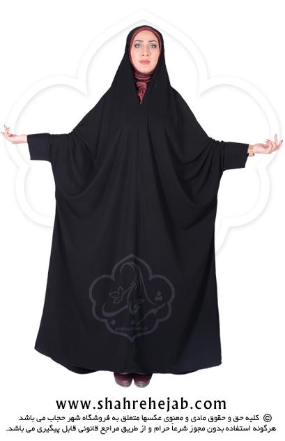 چادر اسماء مچ دار حریرالاسود