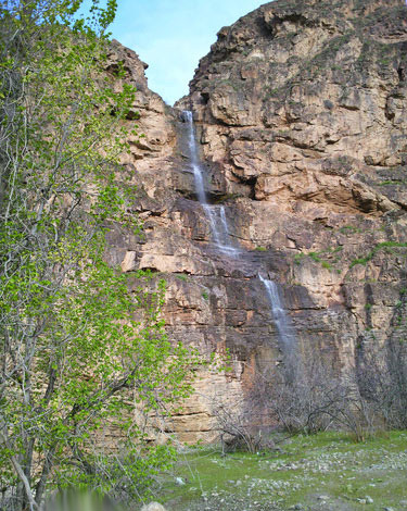 آبشار دره آل، کلات