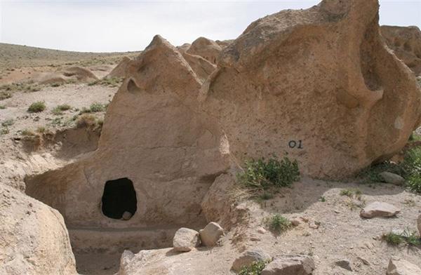 غار کندوان (غارهای دست کند کندوان)