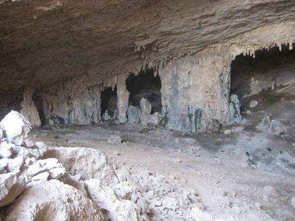 غار گبر، گبری