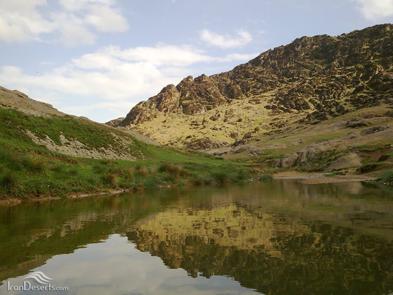 آبشار دره گرم، خرم آباد