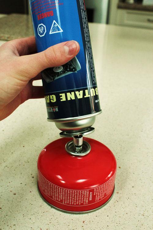 رابط شارژ کپسول های گاز پریموس