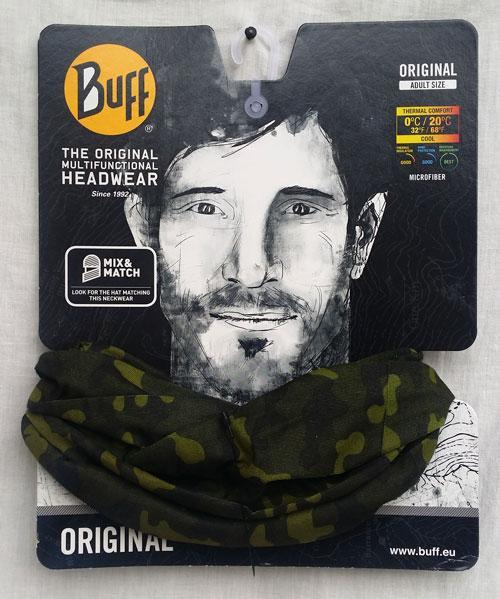 دستمال سر و گردن Buff - green hunt اورجینال