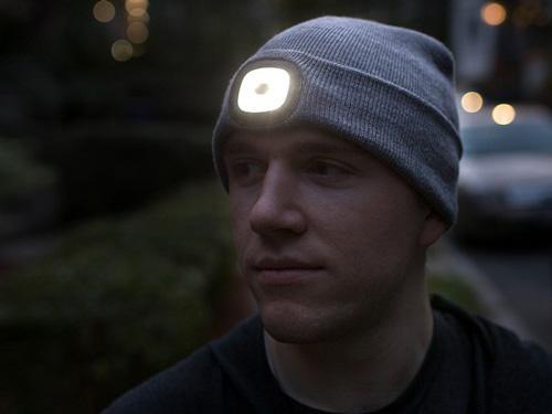 کلاه X-Cap با هدلامپ سرخود