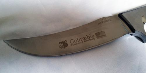 خنجر دسته فلزی ابر و باد - Columbia