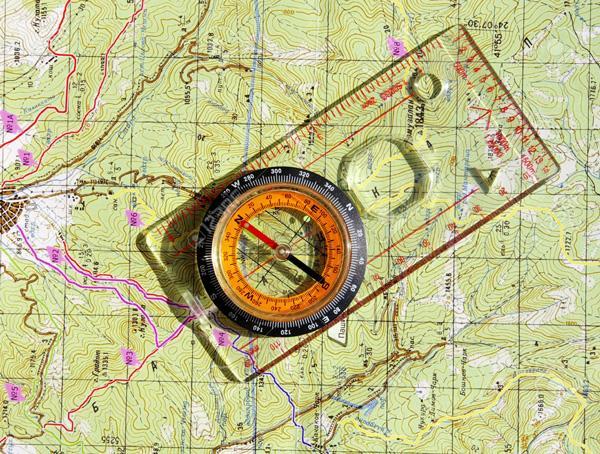 قطب نمای پروترکتور ویژه کار با نقشه