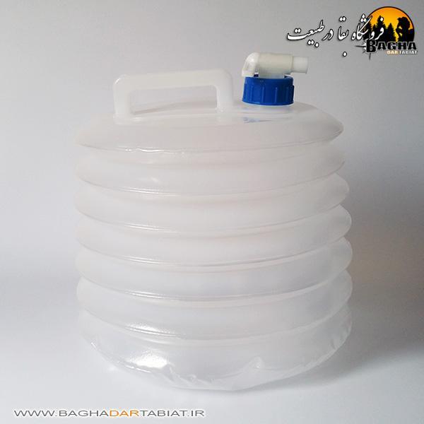 مخزن حمل آب تاشو 10 لیتری آکاردئونی
