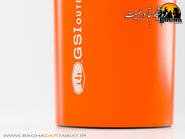 ماگ عایق GSI مدل STAINLESS COMMUTER MUG
