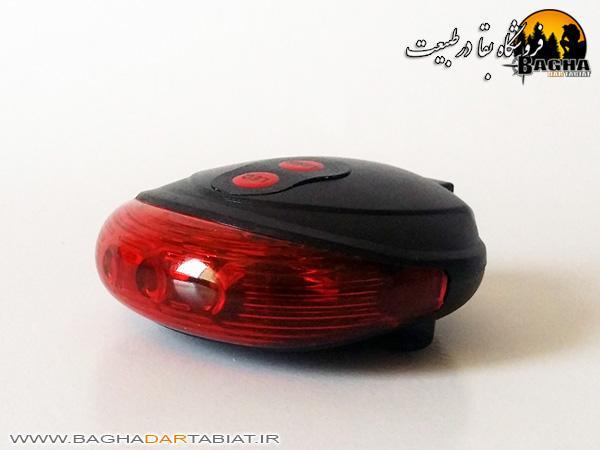 چراغ عقب دوچرخه لیزردار