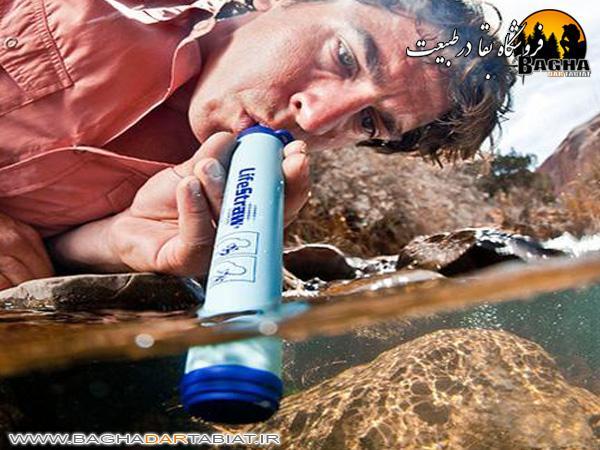 نی تصفیه آب سفری Life Straw