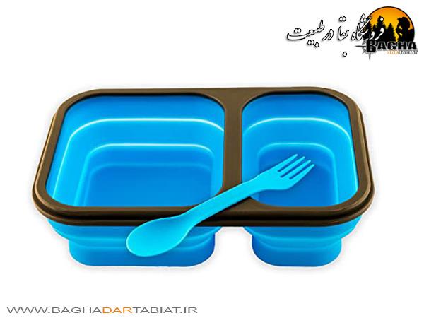 ظرف غذای سیلیکونی تاشو