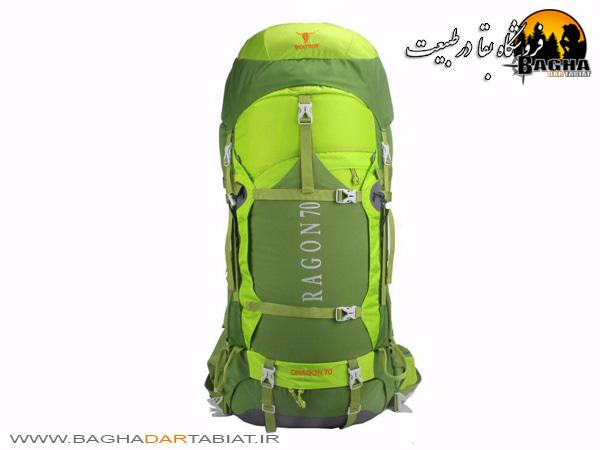 کوله پشتی کوهنوردی پیکینیو 70 لیتر مدل Deragon