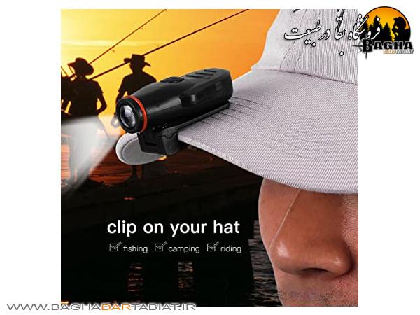 چراغ مخصوص کلاه