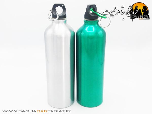 بطری آب فلزی 0.75 لیتری