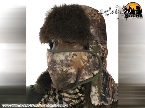 کلاه طرح روسی استتار شاخ و برگی