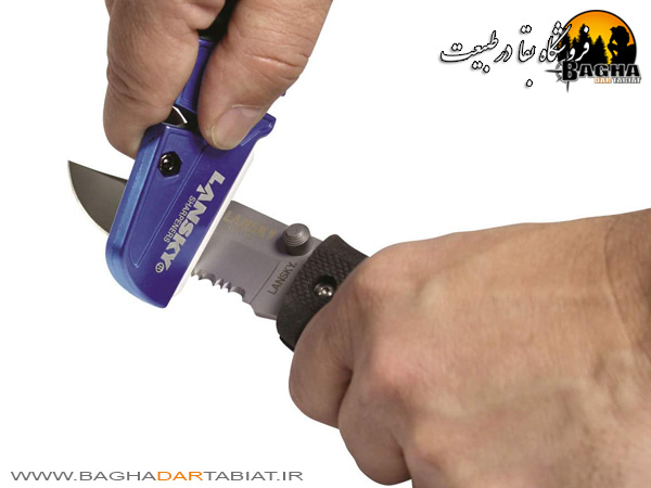 چاقو تیزکن 5 کاره سرامیکی لنسکی مدل Q-Sharp