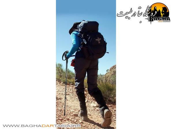 عصای کوهنوردی اکسپوننت اورجینال مدل ABD-3-8512