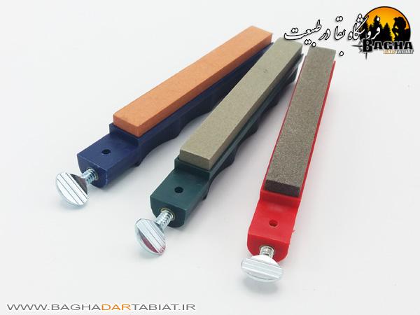 کیت چاقو تیزکن استاندارد سه سنگ لنسکی مدل LKC03