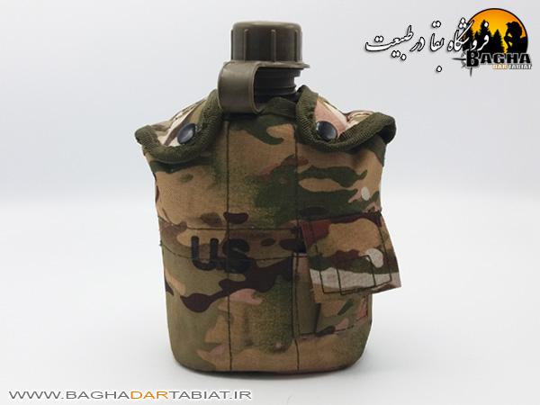 قمقمه نظامی به همراه یقلوی