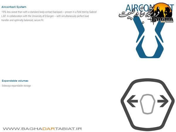 کوله پشتی دیوتر مدل AIRCONTACT LITE 35 + 10 SL
