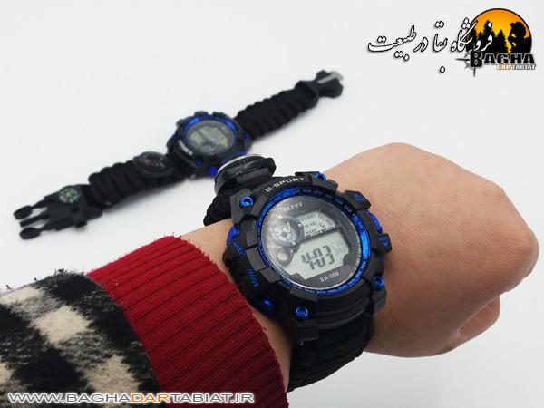 ساعت پاراکورد دیجیتال